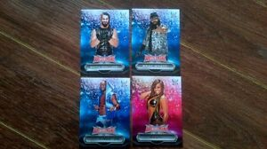 WWE topps cards