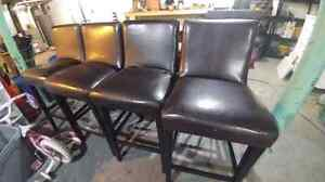Dinning room chairs/ tall bar chairs