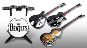 Beatles Rock band (PS3) game and all instruments