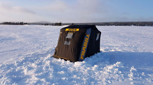 Frabill ice shelter * Lowered*