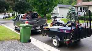 2006 VTX 1300C with option on trailer