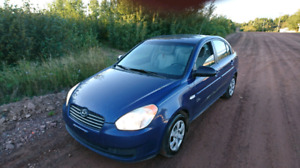 2007 Hyundai aaccent inspected
