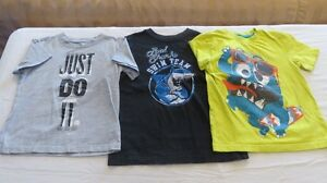 3 Boys Short Sleeve Quality Tops Size 5 Years