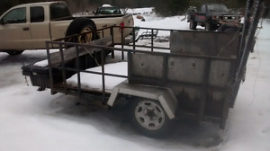 Home made utility trailer takes any load reduced  500$