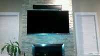 PROFESSIONAL TV WALL MOUNTING SAME DAY SERVICE 416 275  7966