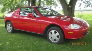 HONDA DELSOL SI 1993 WOW  ** 19000KM *** FULL ORIGINAL