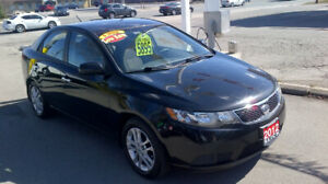 2012 KIA FORTE EX $ 5895 / CERTIFIED / NEW ENGINE FROM KIA
