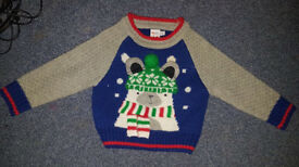 Boys Christmas jumper 6-9months