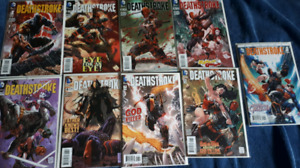 Deathstroke (New 52) issues 1-8 + and New Suicide Squad 1-8