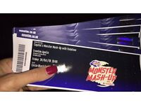 Unfortunately My Tickets For Capital FM Halloween Event MONSTER MASH-UP - for THIS FRIDAY NIGHT!!!!