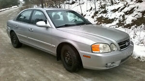 2004 Kia Magentis LS Sedan - Ready for Winter - Best Offer