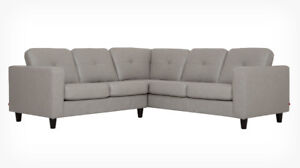 LF Leather sectional