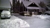 Snow Removal ** Roof Raking ** Available 24/7 ** Jack of Trades