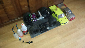 RTR HPI Savage SS 4.6 Big Block with extra's