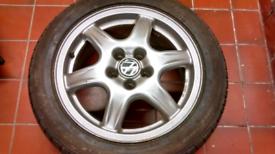 "VW Golf MK3 Vento 4x Genuine OEM BBS Solitude Alloy Wheels 15"""