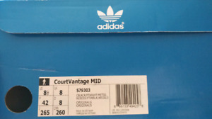 Adidas Shoes (Courtvantage MID) reduced to $30 (60% off RRP)