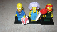 Simpsons lego figure homer selma grounds keeper willy