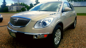 2008 BUICK ENCLAVE  awd ** LOW KMS**