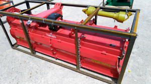 """Brand new 80"""" tractor  rottotiler 3 point Hitch."""