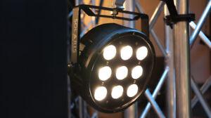 Solaris Basic 90 LED Par with warm white