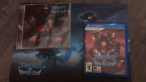 Stranger of the sword city limited edition MINT Ps Vita RARE