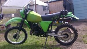Wanted 1984 kx125 parts.