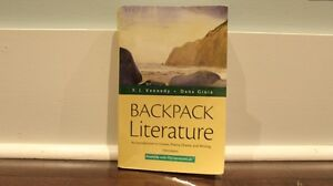 Backpack Literature - Intro to Fiction, Poetry, Drama, & Writing