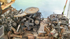 Mercedes engines and transmissions