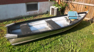 11.5 foot stainless steel boat