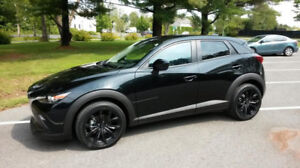 Mazda CX-3 GS VUS transferts de bail all black