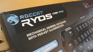 Roccat Ryos MK Pro Mechanical Gaming Keyboard Cherry Blue Switch