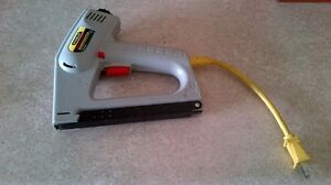 STANLEY ELECTRIC STAPLER / NAIL GUN