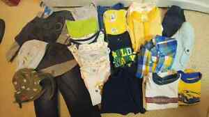 Lot of Boys Size 6-12 Months Summer Clothes