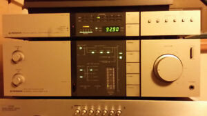 Pioneer A-8 Amplifier Pioneer F-7 Tuner Home Stereo