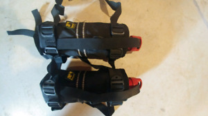 2 Primus Fuel Bottles with 2 Wolfman Holster