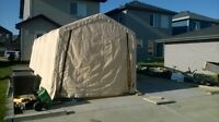10x20 Canvas Shed