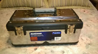 *** MASTERCRAFT - PLASTIC - STAINLESS - STEEL - TOOL-BOX - ***