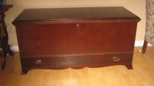 Lovely old Cedar Blanket Chest