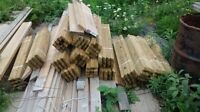 Pressure treated posts for sale