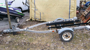 Aluminum single pwc seadoo trailer