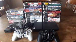 Ps2 slim tested with 40 games