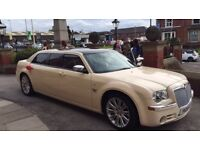 Wedding Car Hire Baby Limo Gloss Ivory White