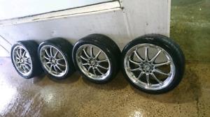 Mags à  vendre avec  pneus