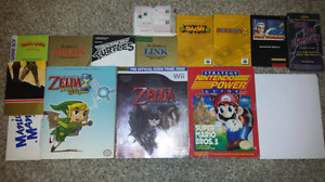 Selling a Bundle of Game Guides, Manuals and Posters!