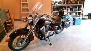 Honda vt750 Shadow aero 2004