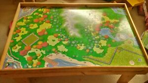 Authentic Handcrafted Thomas Train table and Set