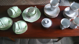 Two sets of china