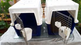 Pet transport crates
