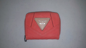 Pink mini Guess wallet - Excellent condition