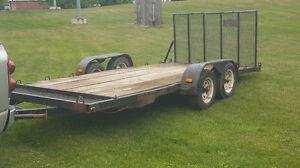 18 ft car trailer